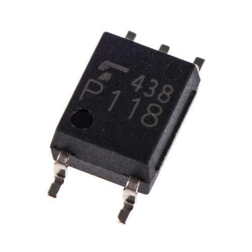 E T foto IC output Fotoaccoppiatore, montaggio a superficie, 5-Pin SO6 4 x Toshiba TLP2361