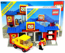 LEGO Legoland Town 6362 Post Office Postal Letters with Minifigures Instructions