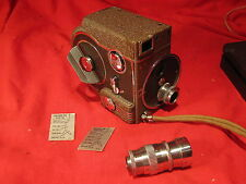 Vintage Revere 8 model 67 Sixty-seven 8mm Camera with 2 lens
