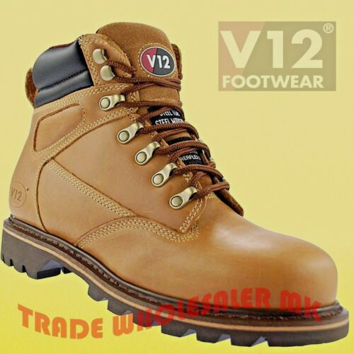 same stable as the famous Tomahawk V12 Mohawk Safety Boots Leather Steel Toecap