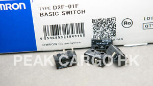 4pcs-OMRON-D2F-01F-Micro-Switch-Microswitch-SPDT-Subminiature-Kinzu-MX-Logitech