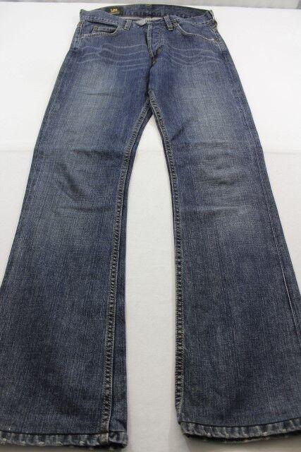J3741 Lee Stiefelcut Schlaghose Denver Jeans W30  Dunkelblau  Sehr gut