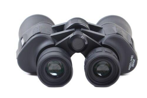 1000m waterproof Prismáticos binoculares de 20X50 caza deporte Vigilancia 56m