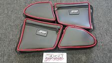 PRP Seats Door Bags 2014 2015 Polaris RZR 1000 XP4 and 2015 +RZR 900-Red Pair