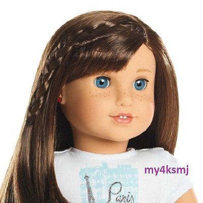 American Girl GRACE Doll with PIERCED EARS /& EARRINGS Book BRACELET Thomas