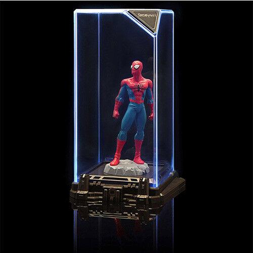 Sentinel luminate marvel - superhelden spiderman - figuren schaukasten 6 11