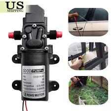 Dc12v 70w 6lmin Pro High Pressure Diaphragm Self Priming Water Pump 130 Psi