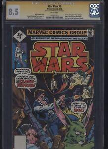 Star-Wars-9-CGC-8-5-SS-Howard-Chaykin-1978-ROY-THOMAS-Tom-Palmer