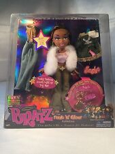 "NEW Bratz Sasha Funk N Glow Collection 10"" Doll 2002 MGA Clothes Accessories A1"
