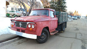 1964 Dodge D300 One Tonne truck with dumping box
