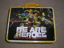 New Teenage Mutant Ninja Turtles Metal Lunch Box Donatello Raphael Leonardo