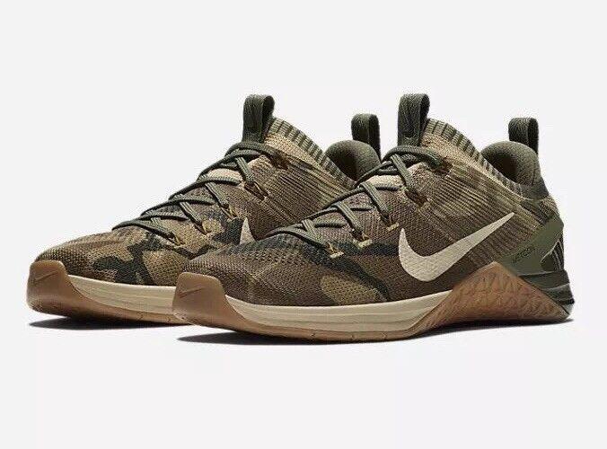 Nike mens mens mens sz 10 metcon dsx flyknit 2 scarpa mimetico   oliva 924423-300 | Fornitura sufficiente  | Maschio/Ragazze Scarpa  30d4ec