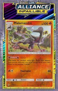 SL10:Alliance Infaillible 31//214 Malamandre Carte Pokemon Neuve Française