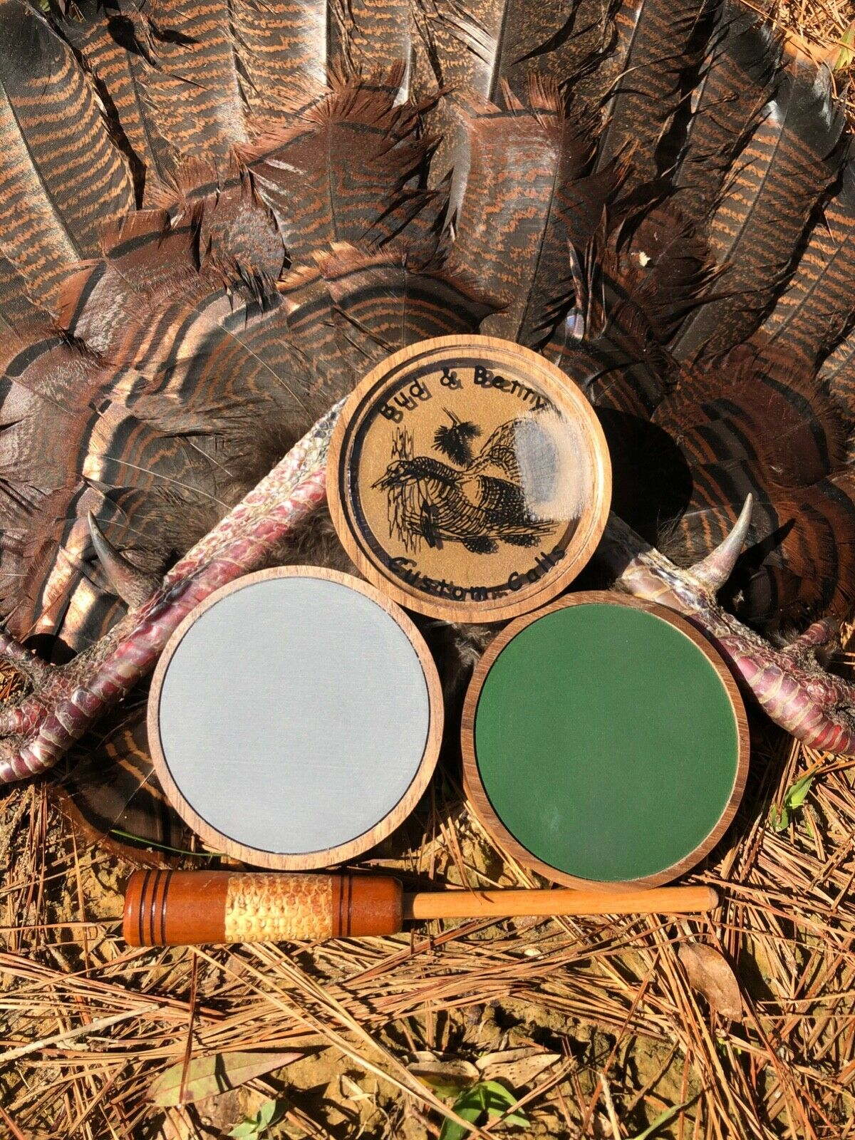 """Slate Friction Turkey Pot Call /""""NEW/"""" Hunting  FearNot Calls"""