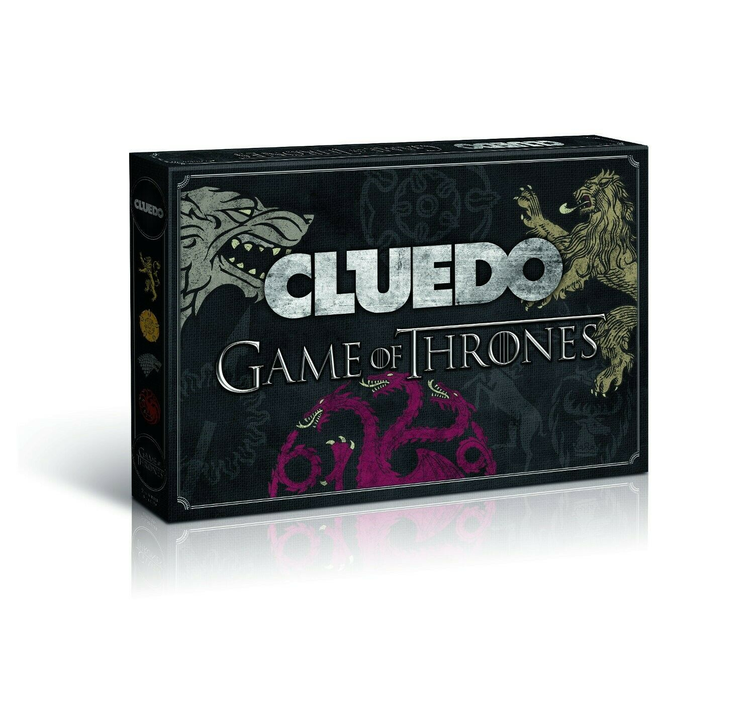 Cluedo Game Of Thrones Collector's Edition Got Gioco da Tavola Tedesco Nuovo