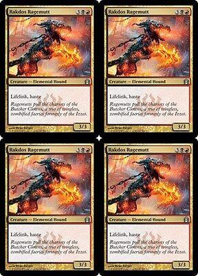 NM 4x Rakdos Firewheeler MTG Ravnica Allegiance Gold Uncommon