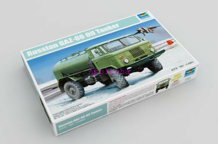 Trumpeter 01018 1 35 Russian GAZ-66 Oil Tanker