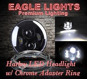 Eagle Lights Harley Daymaker Black 7\