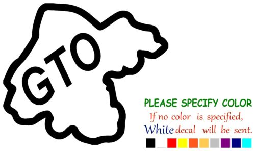 """GUANAJUATO GTO #2 Mexico State Map Funny Vinyl Decal Sticker Car Window truck 9/"""""""