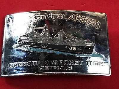 American Flag Vietnam Vet Hero Metal Belt Buckle Fashion Mens Jewelry U.S.A