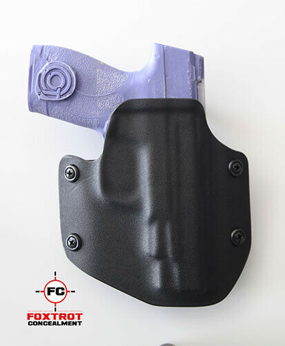 "Kydex Holster fits S/&W M/&P SHIELD 2.0 4/"" 9mm//40cal Black"