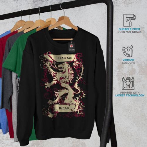 New Sweatshirt Hear Melion Black Men qntARgw8