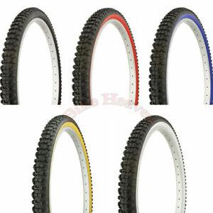NEW-DURO-26-034-x-2-10-034-Bicycle-Tire-Mountain-Bike-Style-Sidewall-MTB-Road-Bike