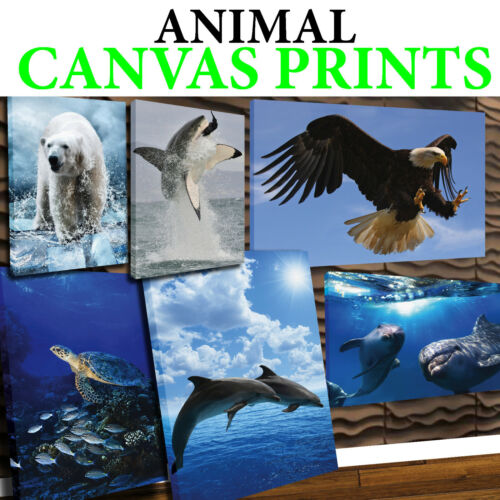 ANIMAL CANVAS 2 - MORE SIZES AVAILABLE - FREE UK P&P