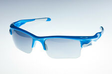 OAKLEY FAST JACKET XL Sky Blue/Black Iridium & Clear OO9156-04