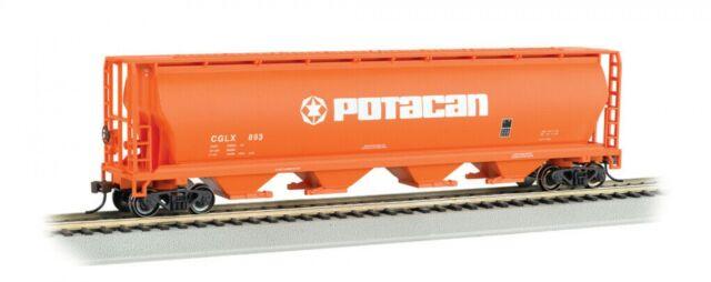 Bachmann 19141 HO Cylindrical Covered Hopper - Potash Corp Potacan #CGLX 893