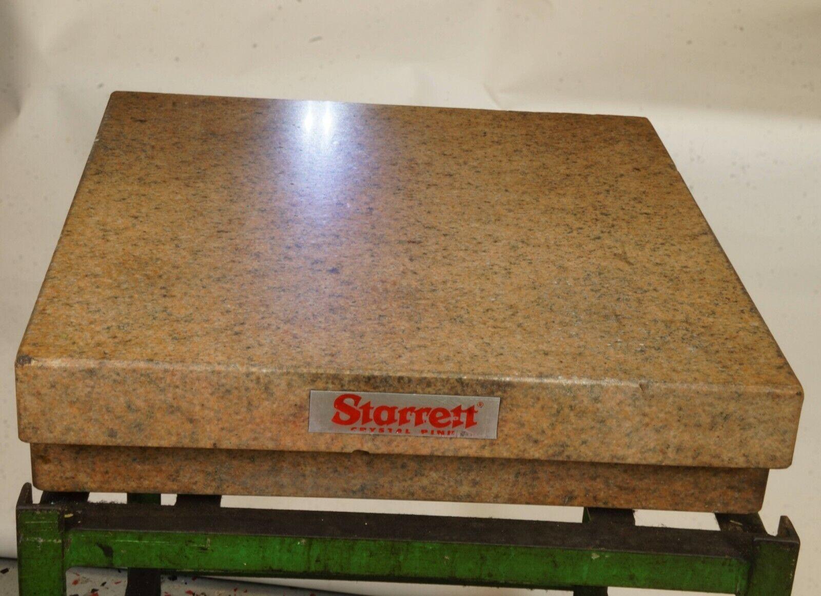 Starrett granite plate