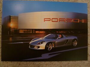 2002 Porsche Boxster S Design Showroom Advertising Poster RARE Awesome L@@K