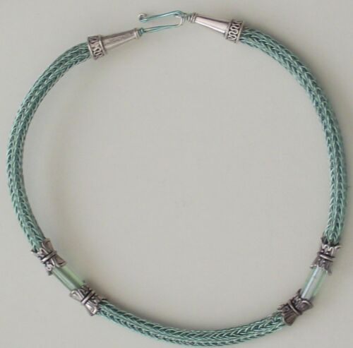 Crafters ideal gift Making your own Chain by knitting wire VIKING KNITTING KIT