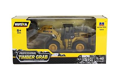 1//40 Scale Huina Die-cast Construction Vehicle Road Roller