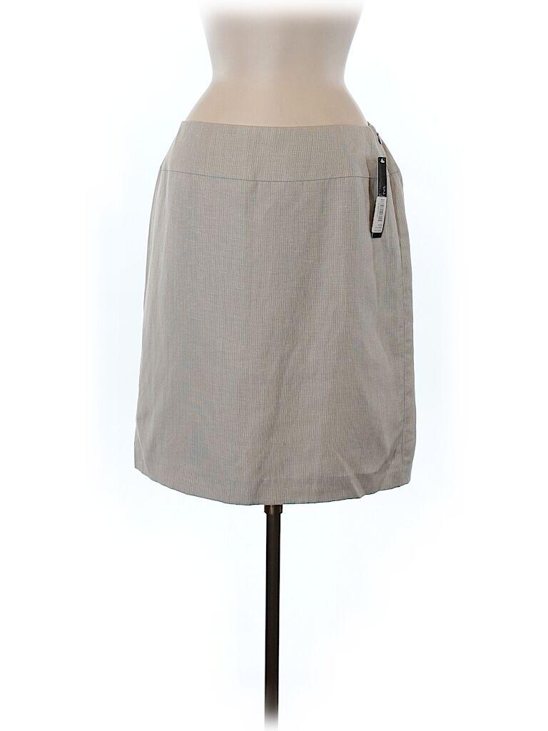 Tahari By ASL Exclusive Bloomingdales Womens Tan Pencil Career Skirt, SZ 6, NWT
