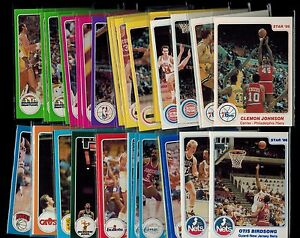 1985-86-Star-Company-partial-set-50-CARDS-LOT