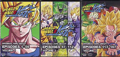 Dragon Ball Z Kai Episodes 1 167 Complete Anime Series On 18 Dvds Ebay