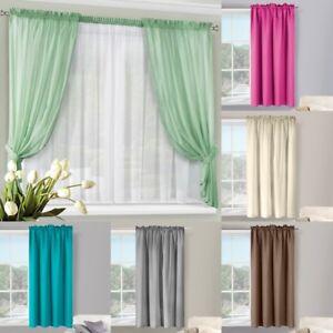 Vorhang Wohnzimmer 400x145 140x180 cm Kräuselband türkis creme braun ...