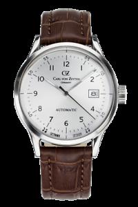 Carl-von-Zeyten-CVZ0001SL-Waldburg-Automatik-braun-Leder-Armband-Uhr-Herren-NEU