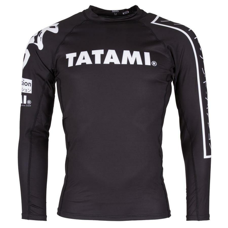 Tatami Fightwear Mens Hokori Rash Guard Compression BJJ Gym Jiu Jitsu MMA