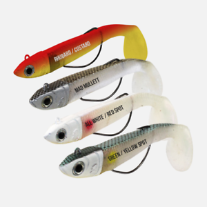 Sidewinder Weedless Minnows All Sizes and Colours