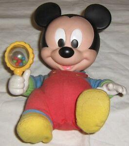 Micky-Maus-Baby-mit-Rassel-Disney