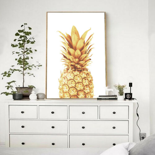 Motivational Quote Canvas Poster Pineapple Art Prints Wall Picture Home Decor