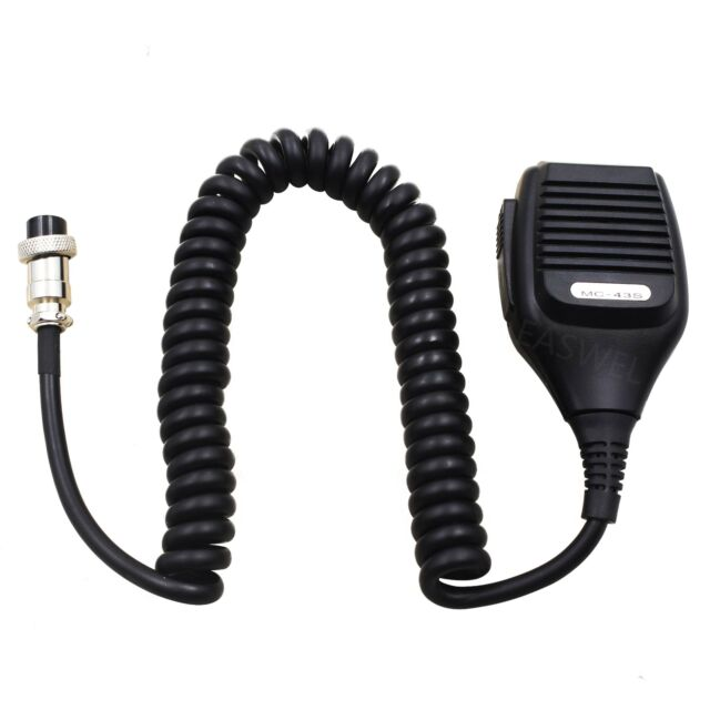 Genuine For Kenwood MC43S Mic 8 PIN Dynamic Button Handheld Radio Microphone