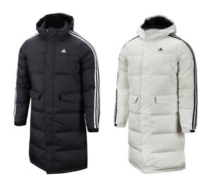 adidas long winter jacket