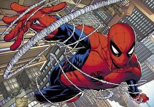 Details About Amazing Spider Man Marvel Hero 3d Full Wall Mural Photo Wallpaper Home Decal Kid
