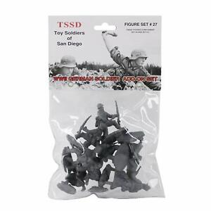 TSSD-1-32-WWII-GERMAN-INFANTRY-ADD-ON-SET-8-PLASTIC-SOLDIER-FIGURES-FREE-SHIP