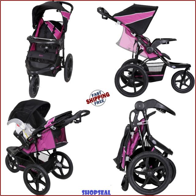 Folding Pushchair Infant Travel Portable Jogging Stroller Baby Jogger Stroller