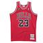 Authentic-Pro-Jersey-Chicago-Bulls-Road-Finals-1997-98-Michael-Jordan-Red-Large thumbnail 1