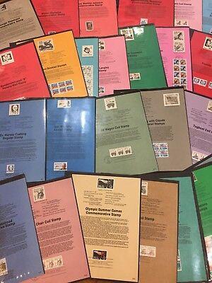 1988 U.s Andenken Souvenir Seiten Komplett 59 Seiten ... 50 Cents Pro Seite !